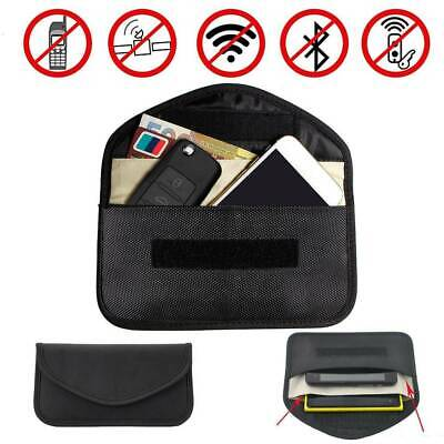 2 Layer Car Key FOB Guard Signal Blocker Pouch Bag Protect Keyless Entry Faraday