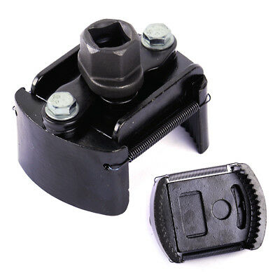 """Car Adjustable Oil Filter Removal Wrench Cup 1/2"""" Housing Tool Remover 60-80mm"""