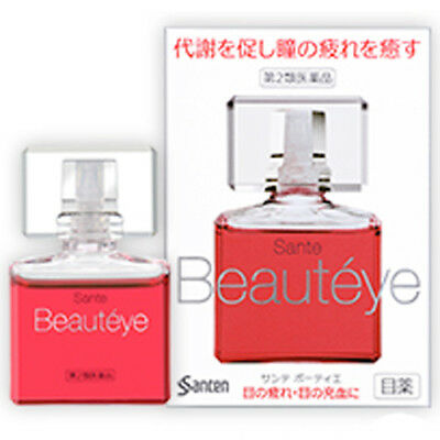 SANTEN Sante Beauteye for Eyestrain Medicated Eye Drops 12mL