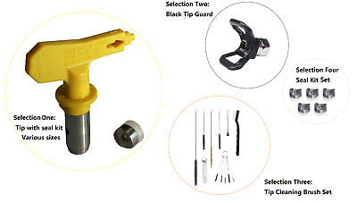 AIRLESS SPRAY TIPS  STYLE NOZZLE FOR G Brand TITAN WAGNER GUN SPRAYERS