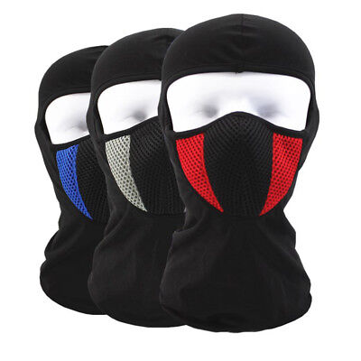 LX_ New Cotton Thin Motorcycle Windproof Dustproof Full Face Mask Balaclava Tr