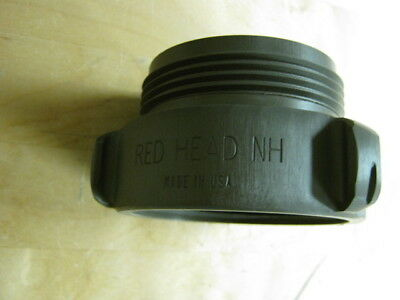 "RedHead Brass Rigid Aluminum Female to Male Adapter 2.5"" NH Style 37"