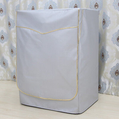 Washing Machine Cover Dust Proof Water Resistant Protector Gold Strap XL