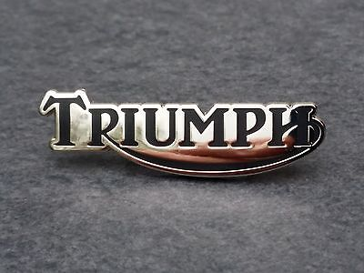 Triumph Motorrad Pin black Trident Sprint Daytona Speed Trophy Tiger Bonneville