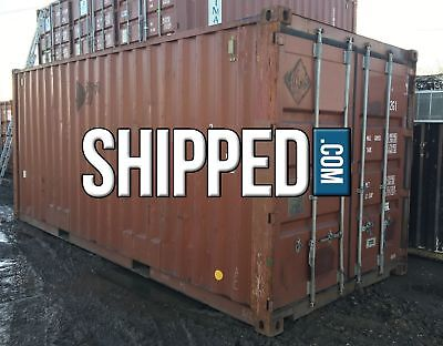USED 20' SHIPPING CONTAINER HOME BUSINESS STORAGE WE DELIVER in PITTSBURGH, PA