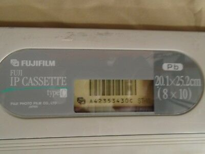 Fujifilm Fuji IP Type C Cassette 20.1x25.2cm (8x10) Pb QTY AVAILABLE
