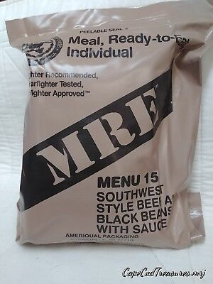 Military Mre  Indivual  Meals Ready To Eat Goverment Meal.