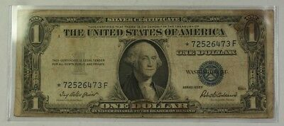 1935 One $1 Dollar Silver Certificate *Star* Note VG-VF Old US Currency