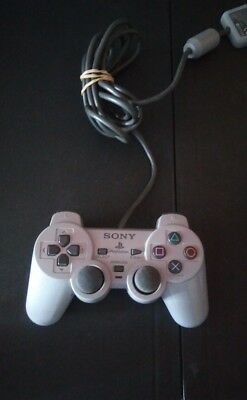Original OEM Sony PlayStation 1 PS1 Controller Dualshock Grey (Official Tested)