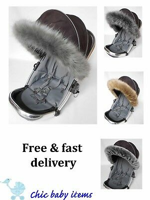 Mothercare  hood fur trim fit pushchair, pram mothercare all models