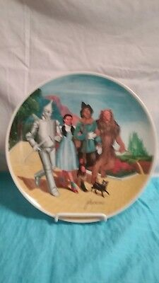 """""""Wizard of Oz"""" Collector Plate-""""Knowles""""-""""We're Off to See The Wizard-Ex/C!!"""