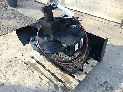 Stout Skid Steer Stump Grinder, Model SG13R, 5-20 GPM