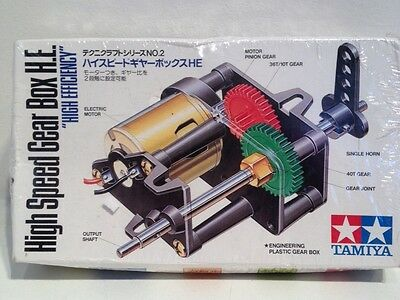 Tamiya High Speed Gear Box H.E. High Efficiency Item 72002 850 New in Box