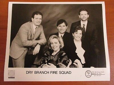 Vtg Glossy Press Photo Bluegrass Music Group The Dry Branch Fire Squad #3