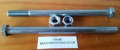 Land Rover Defender  2X Bulkhead Bolts  Ayg500080     90 110 130