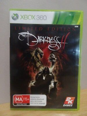 Darkness II  Limited Edition  XBOX 360 Game...  FREE POST AU