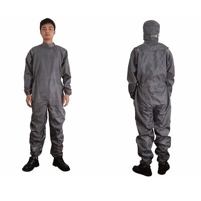 Anti-Static Hooded Suits Dust-Proof Protective Coveralls Work Clothes