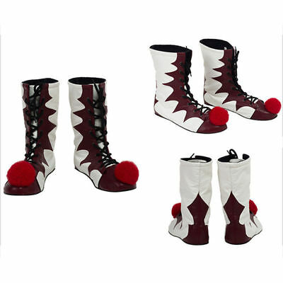 Halloween IT Stephen King 2017 Movie Boots Party Pennywise Cosplay Shoes Mask AU