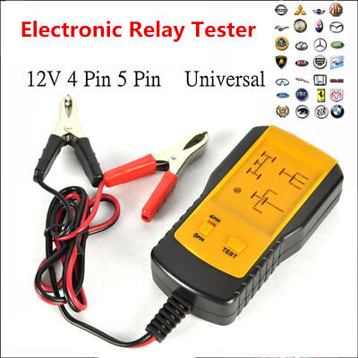Durable AE100 Automotive Electronic Relay Tester for Cars Auto Battery Checker