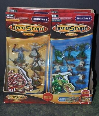 HeroScape Complete Wave #4 - Zanafor's Discovery Brand New W/ Store display box