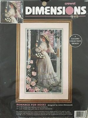 Dimensions - Romance for Roses Crewel Kit