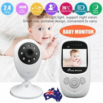 SP880 2.4'' LCD Baby Pet Monitor Wireless Digital Audio Video Camera Security AH