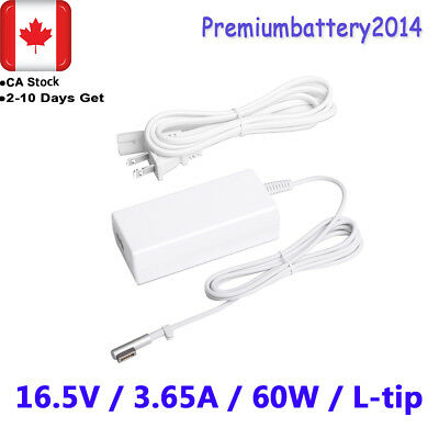 "60W Power Supply Cord AC Adapter Charger for Apple MacBook Pro 13"" A1280 L-Tip P"