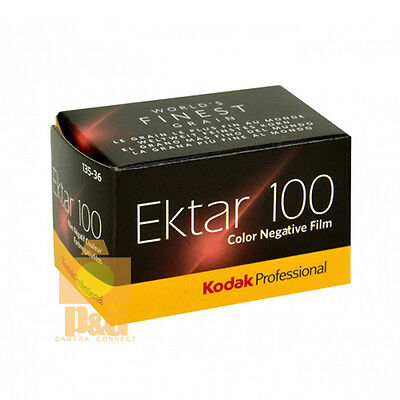 New Kodak Professional Ektar 100 Color Negative 35mm Roll Film 36 Exposures