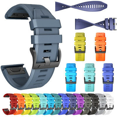 Silicone Quick Release Wirstband Replacement For Garmin Fenix 5X/5X Plus Watch