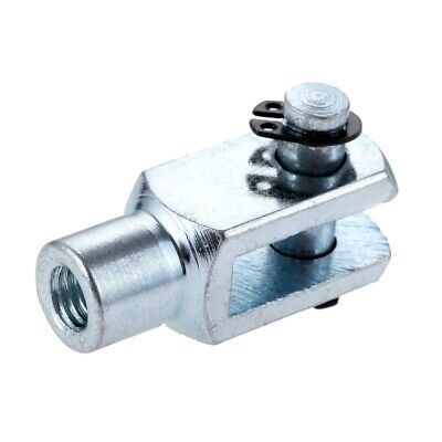 """Air Pneumatic Cylinder Ram Piston Rod End For Clevis 16mm/0.63"""" M8x1.25 Bore 1PC"""