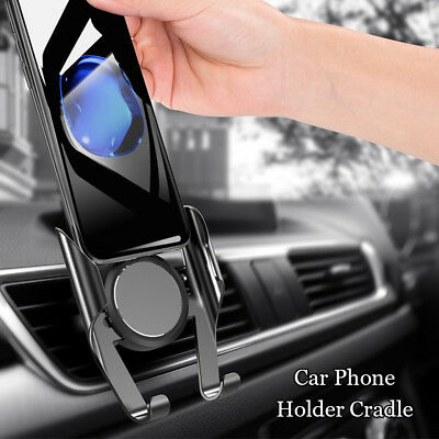 In Car Phone GPS Holder Air Vent Clip Cradle Universal Mount For iPhone Samsung.