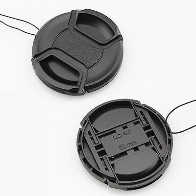 Snap-on Front Lens Cap Hood Cover for Nikon Tamron Sigma Sony Canon 62mm XJ