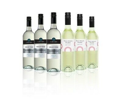 $59 Delivered Moscato White Wine Mixed  6x750ml RRP$129 Free Shipping