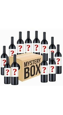 AU Mystery Labelled Shiraz Mixed 12x750ml FreeShiping RRP$199