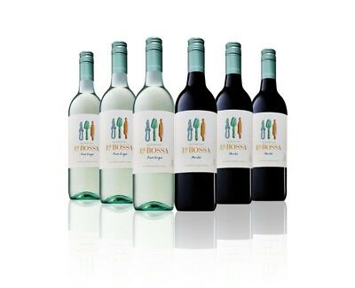 5 Star Rated De Bortoli La Bossa White & Red Wine 6x750ml Free Shipping