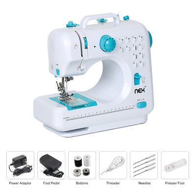 With 12 Built-In Stitches  Free-Arm Sewing Machine Blue NEX  Mini BSM505B