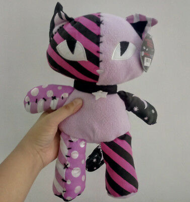 Emily the Strange Patchwork stuffed plush toy new tag 12inches