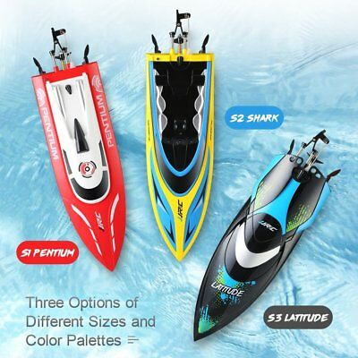 JJRC S2 2.4GHz Speedboat 2CH High Speed Mini Racing RC Boat Waterproof RTR Toy H