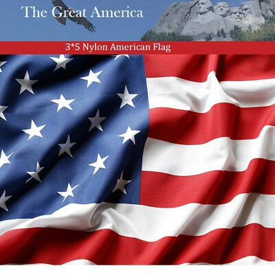 3x5 Ft America USA US Banner Flag Outdoor Indoor Breeze Stars Brass Grommets