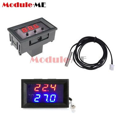 W1209 W1209WK Digital Thermostat Temperature Controller Sensor Case 50-110°C 12V