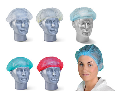 Mob Cap Hair Net Hair Covers Food Hygiene Catering - Various Colours