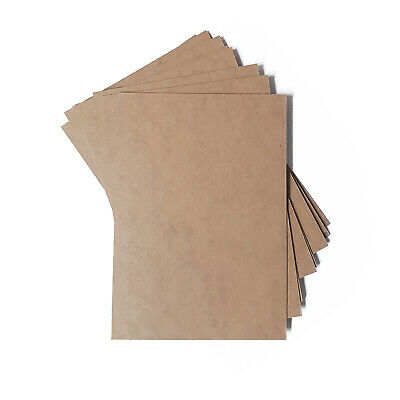 "MDF Backing Board Panels for Framing, Art, Painting - 12 x 10"" PACK OF 10"