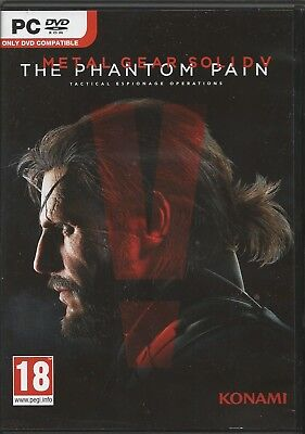 Metal Gear Solid V: The Phantom Pain (PC, 2015, DVD-Box) sehr guter Zustand
