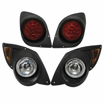 2007-16 Yamaha G29 YDR Drive Golf Cart Halogen LIGHT KIT with LED Taillights
