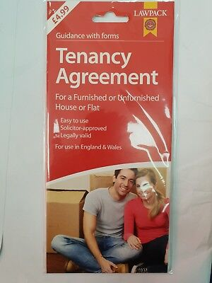Tenancy Agreement For Furnished Or Unfurnished House Or Flat Guidance With Forms