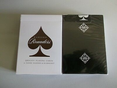 "SEALED PACK ""Bicycle Type - Madison Rounders (Black Edt)"" Pack of Playing Cards"