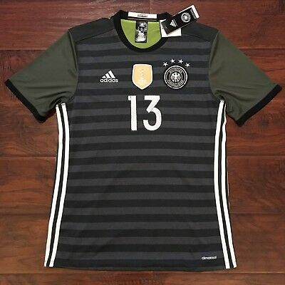 info for 57d5a 22c8f 2016/17 GERMANY AWAY Jersey #13 Thomas Muller Medium Reversible Euro 2016  NEW