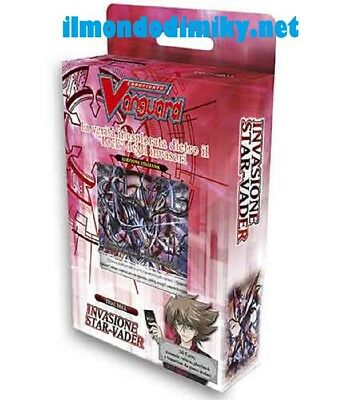 Cardfight!! Vanguard Trial Deck 11:Invasione Star- Vader  mazzo (IT)