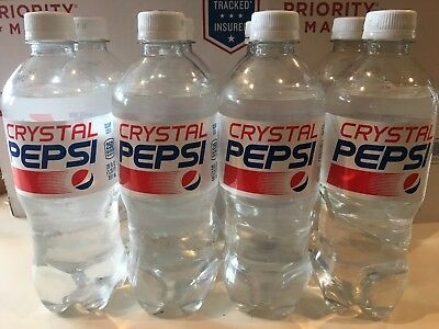 20oz Crystal Pepsi Pack Of Eight- Limited Release!