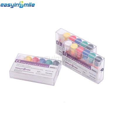 Easyinsmile 1Or3Box Dental Gutta Percha Points.02/04/06Special Taper Endodontic
